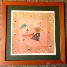 Arte: ACUARELA CARME VILLÀ.(BARCELONA 1944).VER RÀFOLS.. Lote 40040149