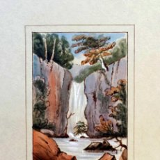 Arte: MAGNÍFICO PAISAJE FIRMADO Y FECHADO SEWDYNUMGAM MISERDEN 1851, ESCUELA ALEMANA, CALIDAD. Lote 40497585
