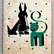 Arte: EXQUISITA GREETING CARD ORIGINAL ART DECO, AÑOS 20 REALIZADA EN ACUARELA POR DOROTHY COOPER. Lote 40531409