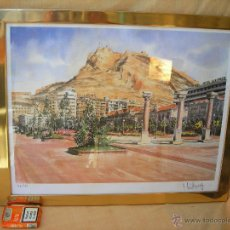 Arte: ACUARELA NUMERADA,FECHADA Y FIRMADA. Lote 40756497