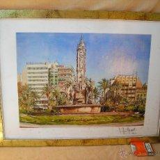 Arte: ACUARELA NUMERADA,FECHADA Y FIRMADA. Lote 40756595