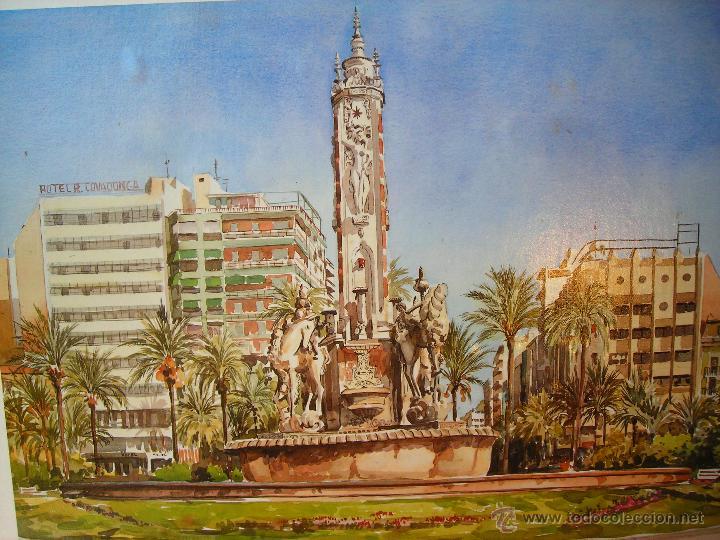 Arte: ACUARELA NUMERADA,FECHADA Y FIRMADA - Foto 2 - 40756595