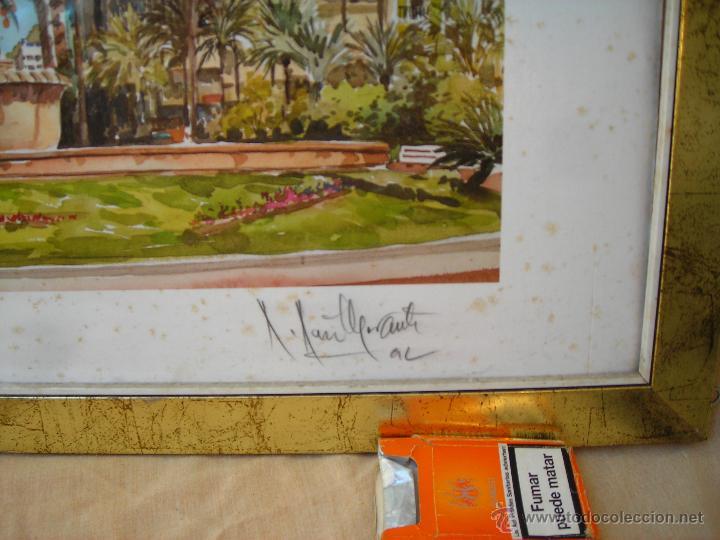 Arte: ACUARELA NUMERADA,FECHADA Y FIRMADA - Foto 3 - 40756595