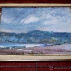 Arte: ACUARELA DE JOSE CIVIL PICARILL(CATALUÑA 1872-?).TIENE OBRAS EN EL MUSEO MARTINEZ LOZANO DE LLANÇA.. Lote 40775780