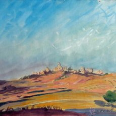 Arte: LOUIS AUBRÉE (FRANCIA , 1906-1991) - - VISTA DE CACERES. Lote 40992343