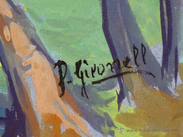 Arte: precioso temple de Pere Gironell Piernau (Borrassà 1904).Ver Ràfols - Foto 5 - 41238040