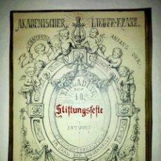 Arte: MARAVILLOSA ESCENA CON QUERUBINES FIRMADA Y FECHADA E. KÜBEL, 1875. EXCELENTE CALIDAD. Lote 41668674