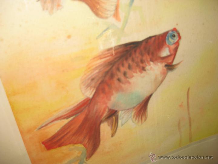 Arte: ANTIGUA ACUARELA. ESCUELA CHINA. - Foto 3 - 42878492
