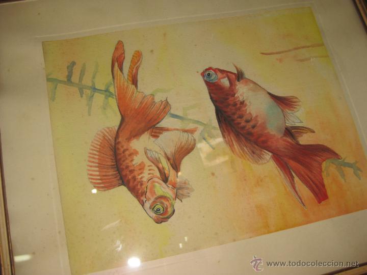 Arte: ANTIGUA ACUARELA. ESCUELA CHINA. - Foto 4 - 42878492