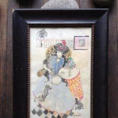 Arte: ACUARELA ORIGINAL, EMILI GRAU SALA (BARCELONA 1911 - 1975) # C206. Lote 42965461