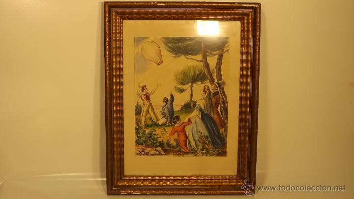 Arte: Acuarela enmarcada y firmada - Foto 2 - 42994895