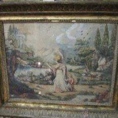 Arte: ACUARELA SOBRE PAPEL. ESCUELA ITALIANA. DE POMPEO BATONI GIROLAMO.FIRMADA P.B. 1782. Lote 43142833