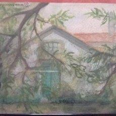Arte: ACUARELA DEL PINTOR MANUEL TORRES, FIRMADA. Lote 43370415