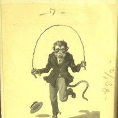 Arte: EDUARDO VICENTE DIBUJO ORIGINAL A 3 TINTAS PAG 54 CUENTOS Y FANTASIAS, AÑO 41. MED. 19 X 27 CM. Lote 43383288