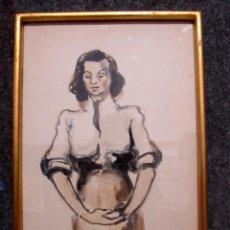 Kunst - Acuarela Janés ? Tarrés? .Madrid 1954 - 43528067