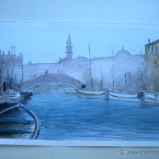 Arte: ACUARELA DE VENECIA. Lote 43575935