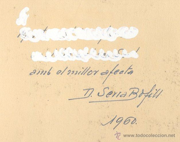 Arte: Acuarela de Domingo Serra Bofill —Sant Cugat—Pintor de Sabadell - Foto 3 - 43596705