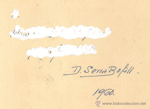 Arte: Domingo Serra Bofill —Montserrat— Pintor de Sabadell - Foto 3 - 43596772