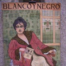 Arte: PINTURA ORIGINAL, PARA LA PORTADA DE BLANCO Y NEGRO, DE EULOGIO VARELA, HACIA 1920.. Lote 43740230