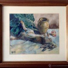 Arte: FRANCESC ABELLO ROCA, ACUARELISTA Y DIBUJANTE NACIDO EN TARRASA EN 1875. Lote 44228286