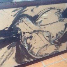 Arte: GRAN ACUARELA DEL PINTOR MIGUEL MOSQUERA 1975. Lote 44406444