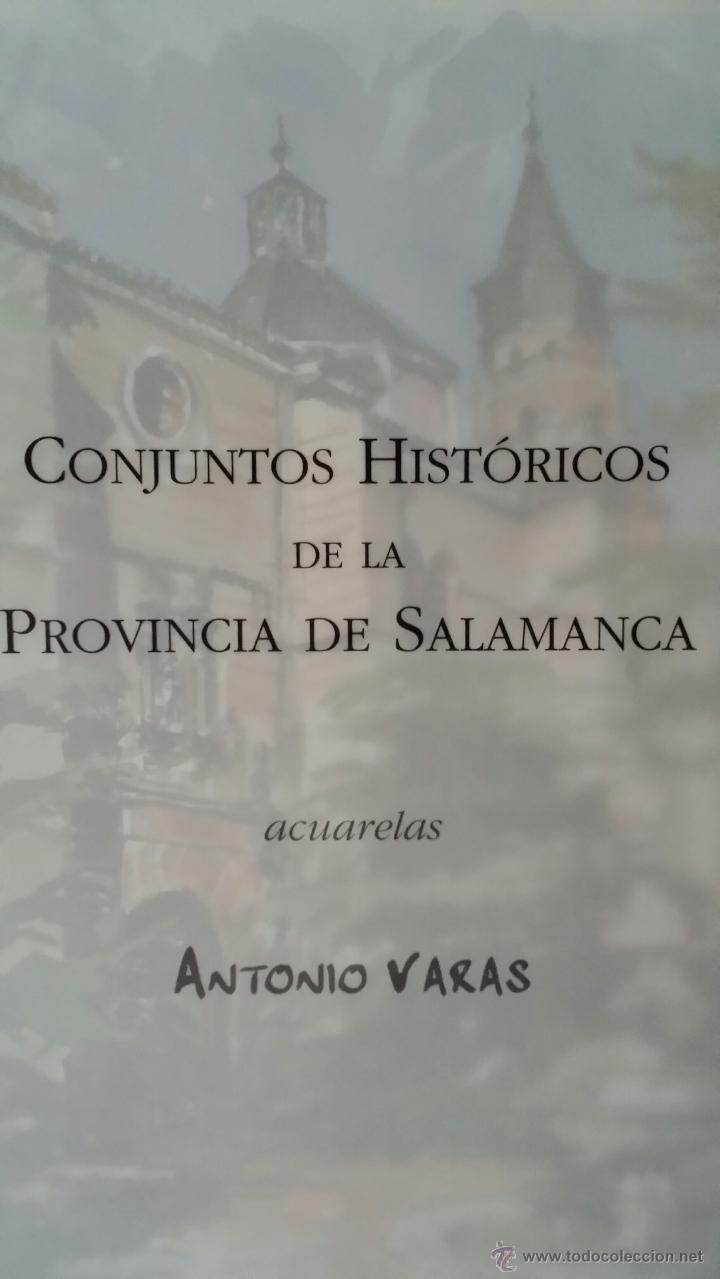 ANTONIO VARAS / ACUARELAS / SALAMANCA (Arte - Acuarelas - Contemporáneas siglo XX)