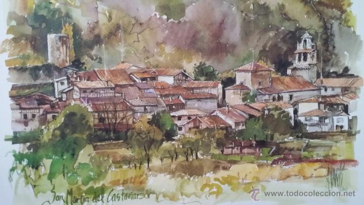 Arte: ANTONIO VARAS / ACUARELAS / SALAMANCA - Foto 4 - 51483354