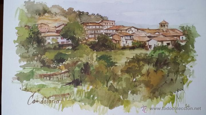 Arte: ANTONIO VARAS / ACUARELAS / SALAMANCA - Foto 9 - 51483354