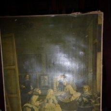 Arte: CUADRO DE LAS MENINAS DE VELAZQUEZ, SE VENDIA ANTIGUAMENTE EN EL MUSEO DEL PRADO. . Lote 44845307