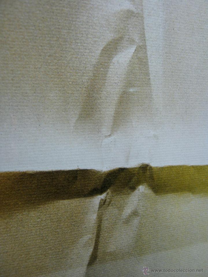 Arte: 220 cm - Gran formato - triptico serie enmarcada 3 pinturas guash firmadas - Foto 6 - 44924984