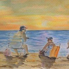 Kunst - Ocio de verano - acuarela - 45086285