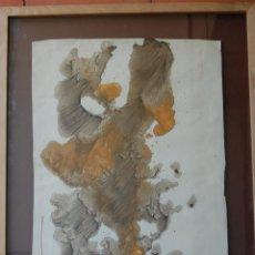 Arte: PINTURA ENMARCADA ACUARELA GINÉS LIEBANA - 1960. Lote 45266141