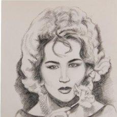 Arte: SARA MONTIEL OBRA DE GILABERTE. Lote 46615071