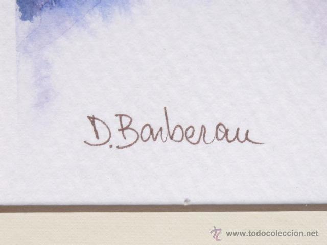 Arte: acuarela de Dolors Barberan.Como nuevo - Foto 3 - 46953262