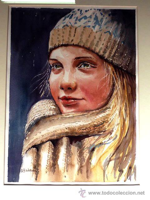 Arte: acuarela de Dolors Barberan.Como nuevo - Foto 2 - 46953281