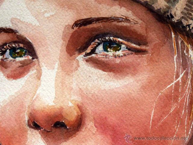 Arte: acuarela de Dolors Barberan.Como nuevo - Foto 3 - 46953281