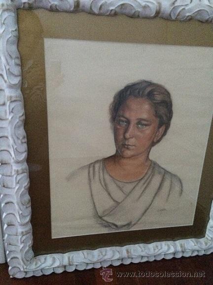Arte: AURELIO ARTETA Bilbao1879-Mexico1.940 (retrato de su 2ª esposa) - Foto 2 - 48927461