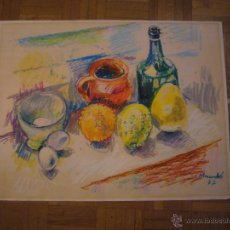 Arte: IGNASI MUNDO MARCET (1918 - 2012) : - BODEGON - (FIRMADO Y FECHADO: 1977). Lote 47036835