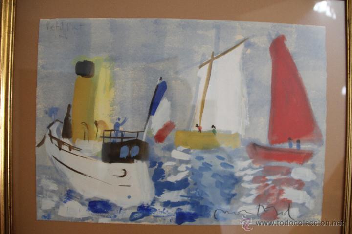Arte: Javier Montesol, acuarela sobre papel 50x25 cm. - Foto 2 - 47059076