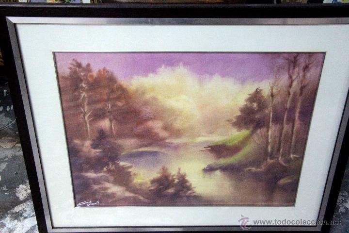 Arte: SANCHO FAUSTE, LOGROÑO , ACUARELA FIRMADA. 1918-1986 64X50CM PRECIO:350€ - Foto 2 - 47286962