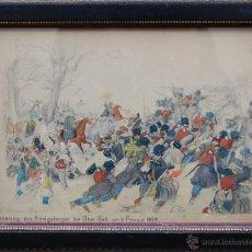Arte: ACUARELA. 1870. Lote 47560732