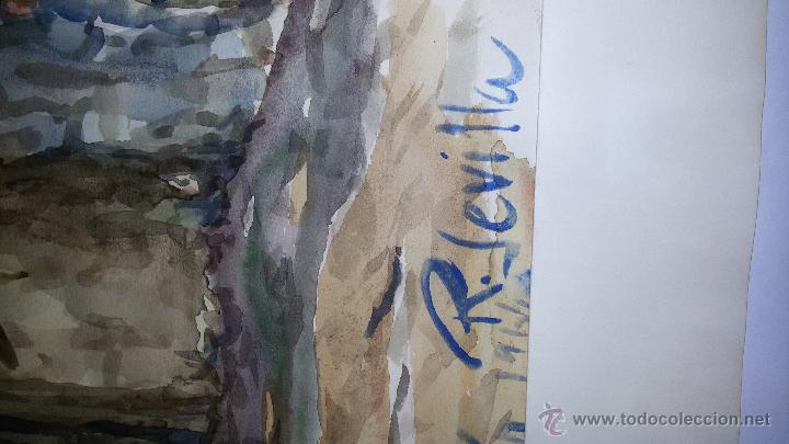 Arte: INTERESANTE ACUARELA SOBRE EL ALBAICÍN,HACIA 1960-FIRMADA - Foto 4 - 47616189
