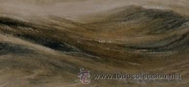 Arte: Preciosa Acuarela del Siglo XIX - Origen Holandés - Firmada: V. Muller - Foto 3 - 48521148