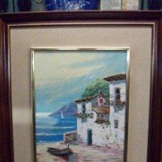 Arte: CUADRO ACUARELA-PAISAJE. Lote 49119741