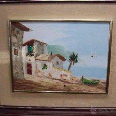Arte: CUADRO ACUARELA-PAISAJE. Lote 49119750
