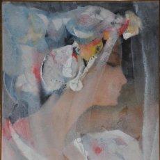 Arte: ARMANDO SENDIN GOUACHE ORIGINAL SOBRE PAPEL FIRMADO Y FECHADO EN 1994. Lote 40953000