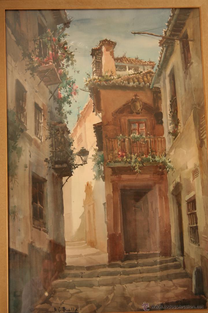 Arte: Acuarela de Bonillo - Foto 2 - 49928267