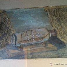 Arte: BONITA ACUARELA FIRMADA POR MAURICIO GOMEZ. Lote 51123732