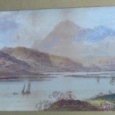 Arte: WILLIAM HENRY EARP (1833-1914) - PINTOR BRITÁNICO - ACUARELA. Lote 51322941