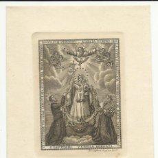 Arte: GRABADO DE LA INMACULADA CONCEPCIÓN,TOMAS DE ROCAFORT Y LÓPEZ LAMINA DE 13X 9 CM., NUMERADA. Lote 51590592